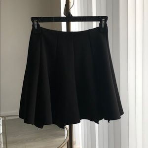 Black Top Shop Skater Skirt
